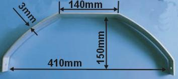 View Product - AL Landing Gear Decathlon 60 3/60mm 1pc